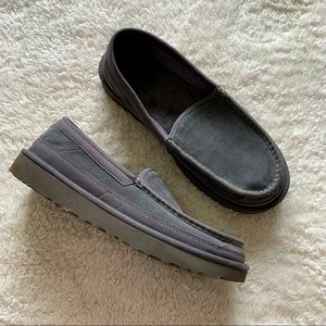 UGG Dex moccassin loafers suede slippers